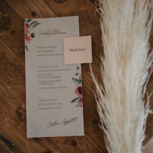 Papeterie   Bridal Bouquet   Namenskärtchen