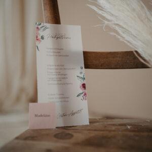 Papeterie | Bridal Bouquet | Menükarten