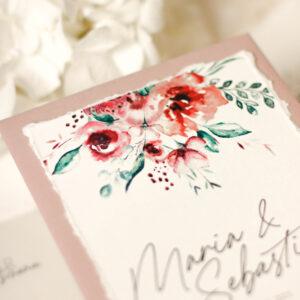 Papeterie   Bridal Bouquet   Einladung