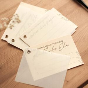 Gästebuch-Karten | 12 Stück pro Set
